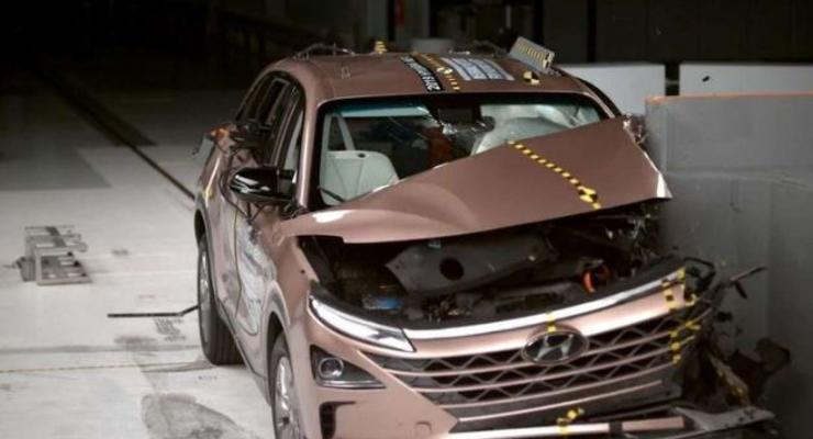 Взорвется, или нет?: Как поведет себя автомобиль на водороде при аварии - видео