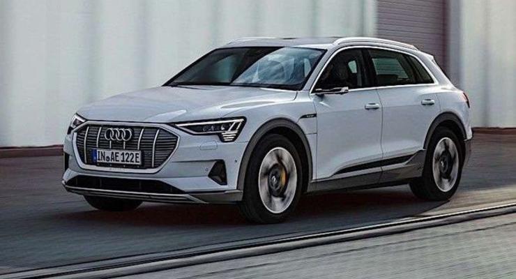 Дешевле, чем во всем мире: Стали известна цена электрокроссовера Audi e-tron в Украине