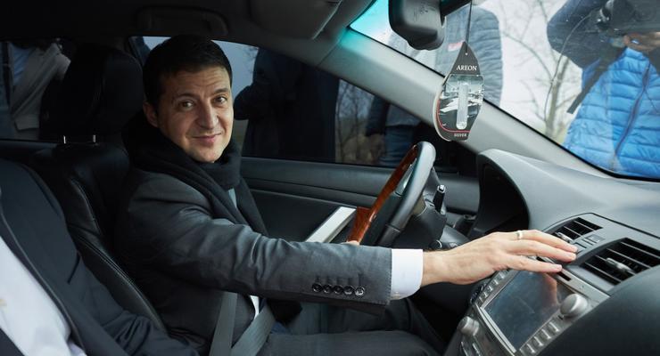 Как президент Зеленский проверял ремонт трассы H-08 Запорожье-Мариуполь