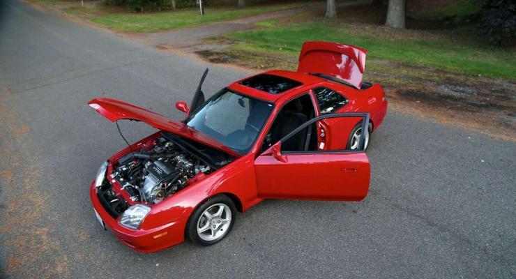 """В """"капсуле времени"""" обнаружили """"новенький"""" 22-летний Honda Prelude"""