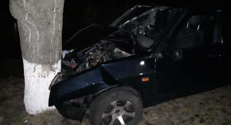 Под Киевом за одну ночь произошло пять ДТП с 8 пострадавшими