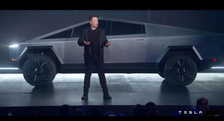 Илон Маск презентовал новый пикап Tesla - видео