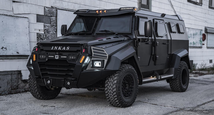Представлен роскошный броневнедорожник Sentry Civilian - чем интересно авто