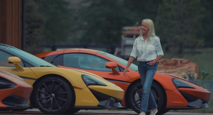 Крутую коллекцию McLaren из провинции показали на видео