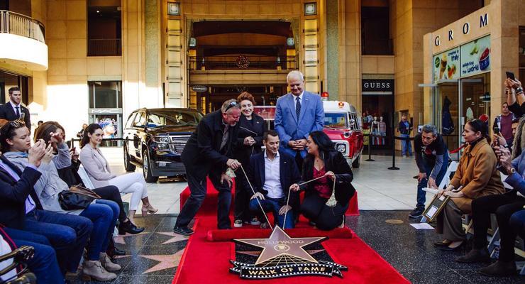 Первый автомобиль получил звезду на Аллее славы Голливуда