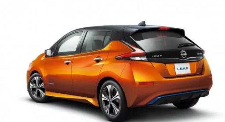 Nissan Leaf встретит свое десятилетие обновленной моделью - фотографии