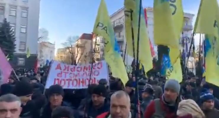 """""""Евробляхеры"""" снова протестуют в Киеве - что требуют активисты"""