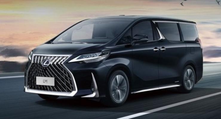 В продажу поступил первый минивэн Lexus - фотографии