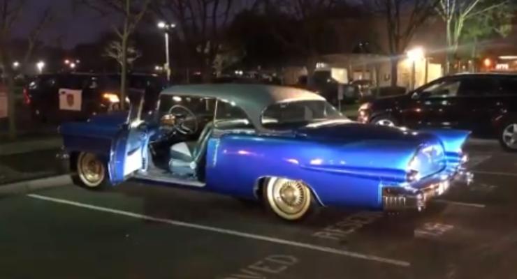 Украденный Cadillac 1956 года с интересной историей вернули 106-летнему хозяину