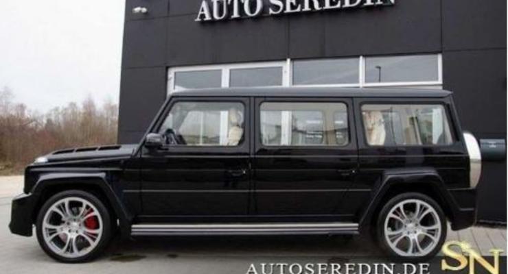 Немцы превратили Гелендваген в уникальный лимузин - фото