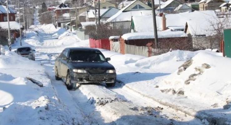 Предупреждение автомобилистам: В Украину приближаются снегопады
