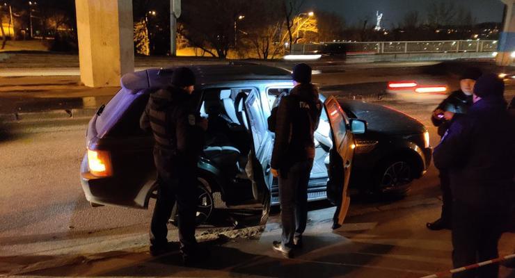 В Киеве произошла полицейская погоня со стрельбой за иностранным Range Rover
