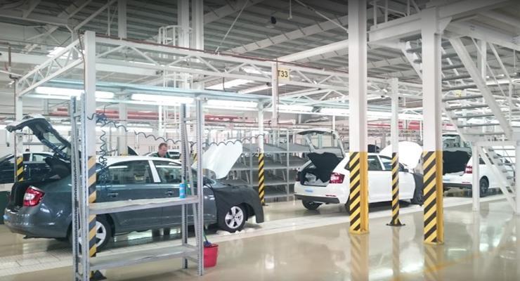 В Украине снова падает автомобильное производство: Статистика
