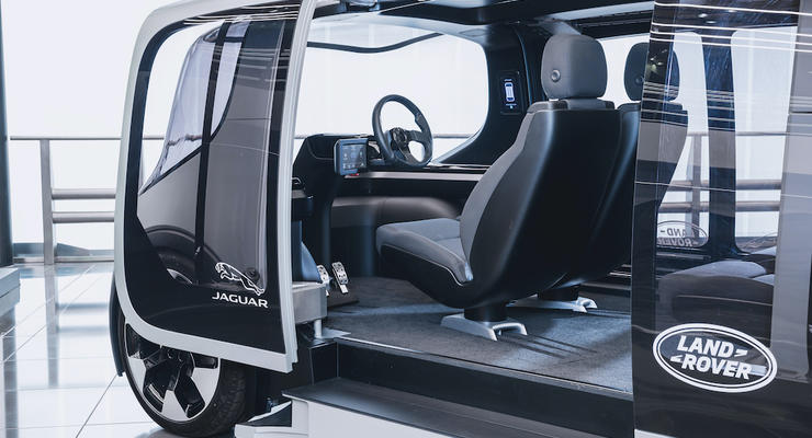 Электрический Jaguar Land Rover будет спокоен и перемещаться в городе: Концепт