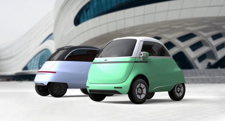 Миниатюрный электромобиль из Швейцарии покорит 200 км