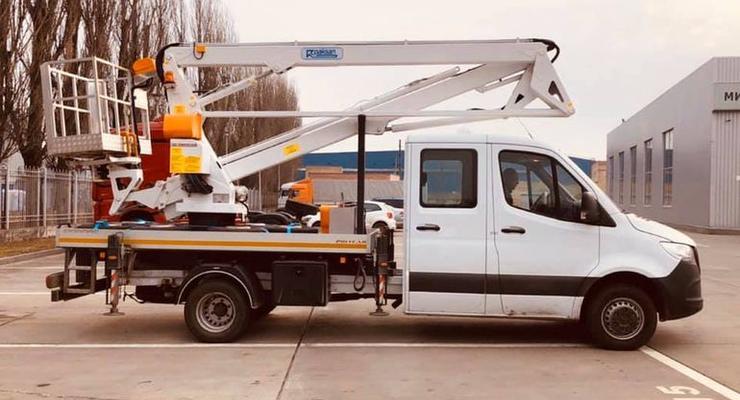 В Украине на шасси Mercedes-Benz строят новые коммерческие автомобили