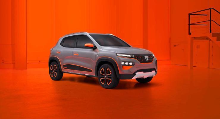 10 000 $ за электрокар: Dacia представила концепт бюджетного заряжаемого автомобиля