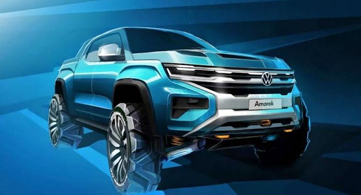 Новый пикап VW Amarok будет создан при участии американского Ford