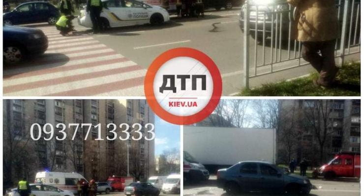 В Киеве в страшном ДТП пострадал ребенок: Подробности