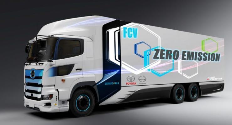 Toyota и Hino Motors пообещали создать водородный тягач в обозримом будущем