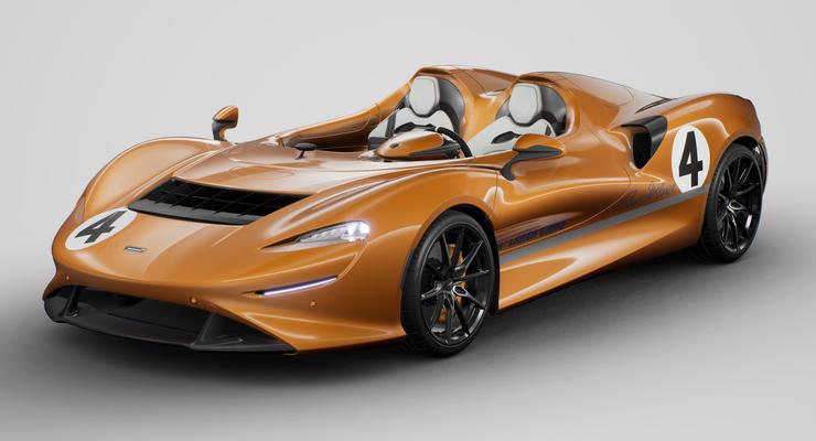 Новенький дорожный McLaren Elva 2020 выпустят в цвете легендарного болида