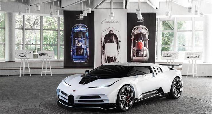 Криштиану Роналду может стать обладателем гиперкара Bugatti Centodieci за 9 млн $