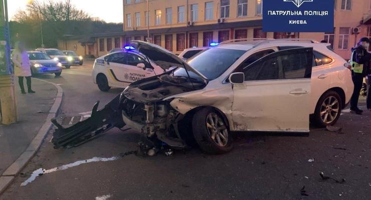 В Киеве виновник ДТП оказался еще и угонщиком