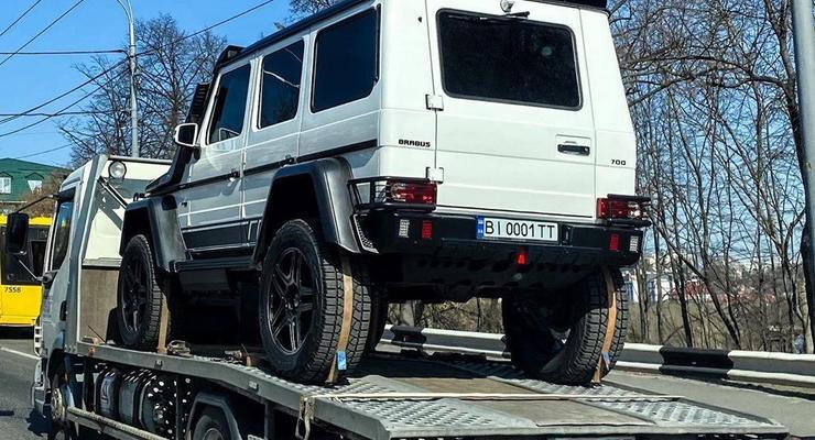 В Киеве заметили лимитированный Гелендваген за 200 тыс евро