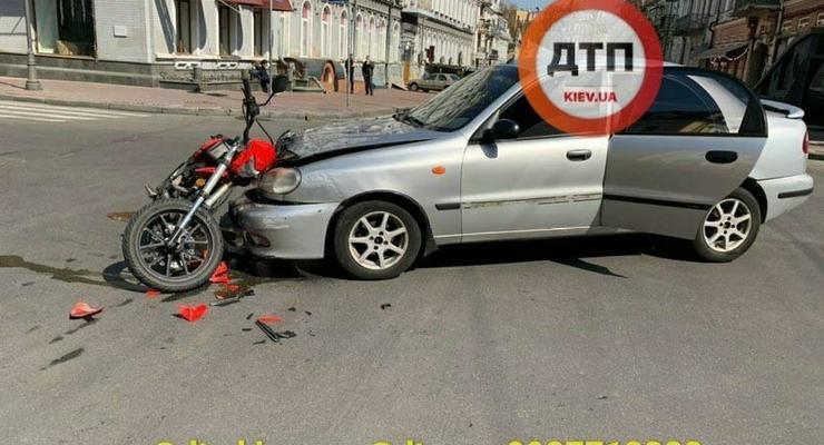 ДТП в Киеве и области: сводка за 7 апреля