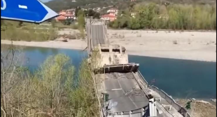 В Италии обрушился 400-метровый мост