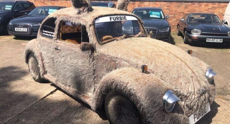 """Volkswagen Beetle в """"шубе"""" продают в Британии"""