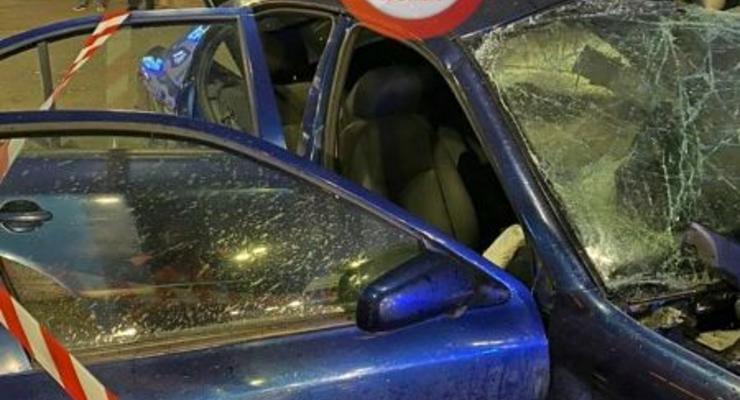 В Киеве в ДТП столкнулись шесть авто