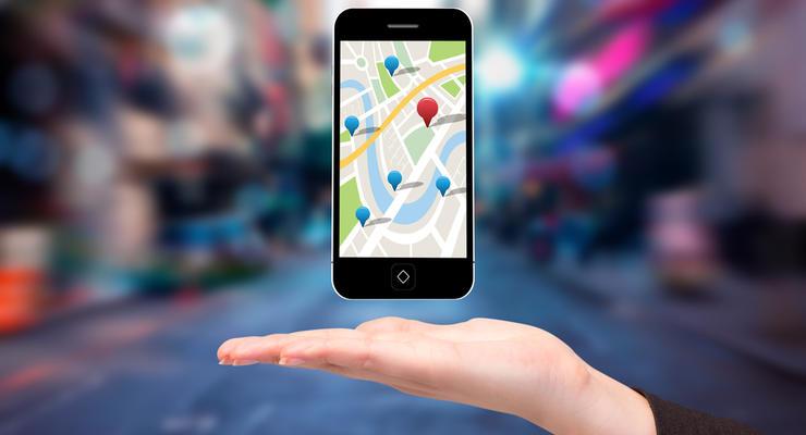 Отображение полос движения стало доступным в мобильном навигаторе
