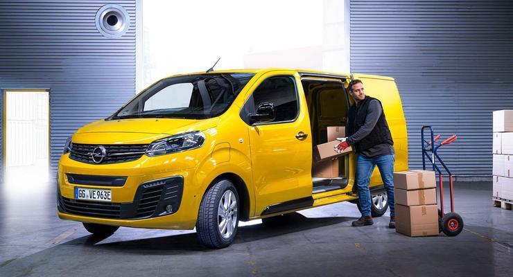 В Opel представили первый электромобиль коммерческого назначения