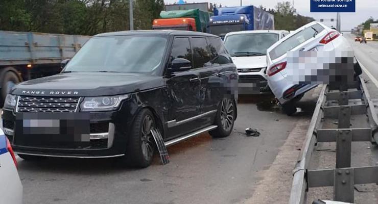 Массовые ДТП на дорогах Киевской области: Сводка 12 мая