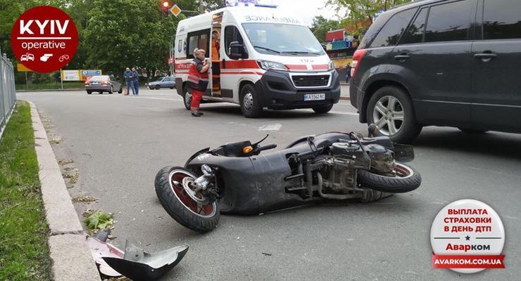 ДТП на дорогах Киева: Сводка за сутки 12 мая