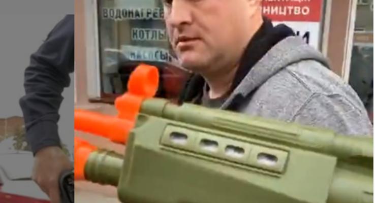 В Харькове разбираются с полицейским, который принял игрушку за автомат