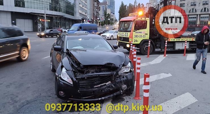 Происшествия на дорогах Киева: Сводка за 24 мая
