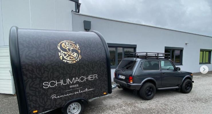 Ральф Шумахер переделал Lada в передвижной винный бар