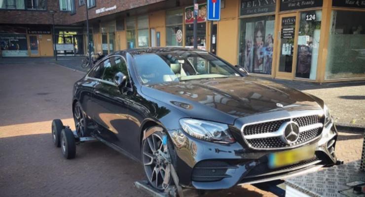 В Нидерландах у аферистов изъяли 39 элитных авто
