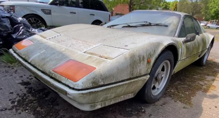 В США нашли эксклюзивную Ferrari, которая превратилась в металлолом
