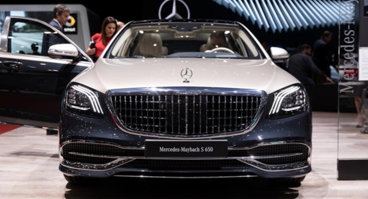 "Mercedes выпустит 15 ""прощальных"" Maybach S 650"