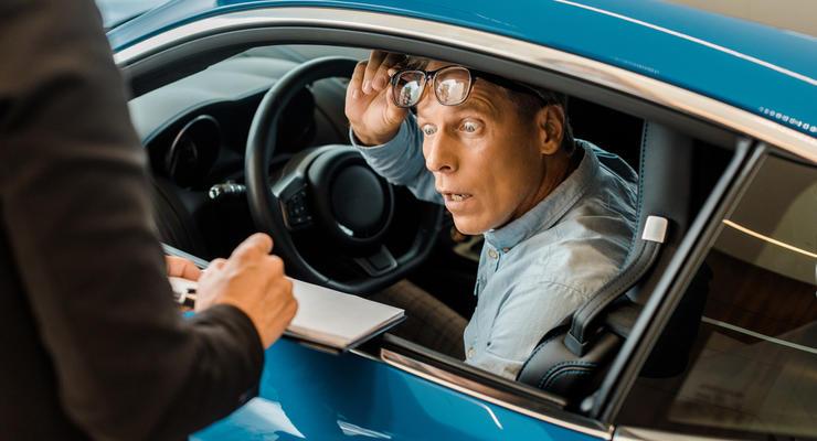 Когда водителя штрафуют за обгон: Подробности