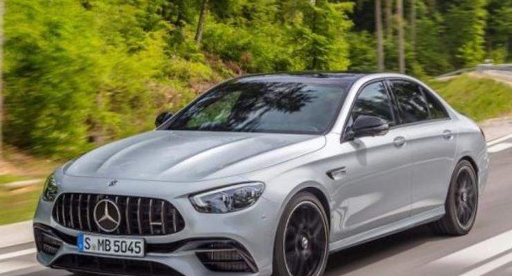 В Mercedes представили новинку Е-класса AMG 63 S