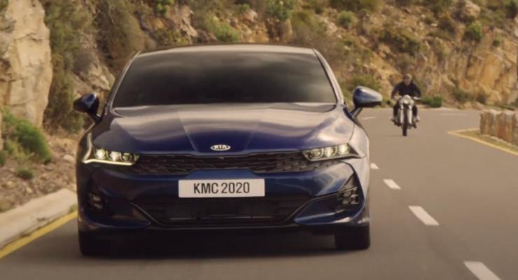 Kia представила седан K5 для рынка Северной Америки