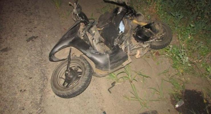 На Киевщине опрокинулось авто и случилось несколько мотоаварий: Сводка