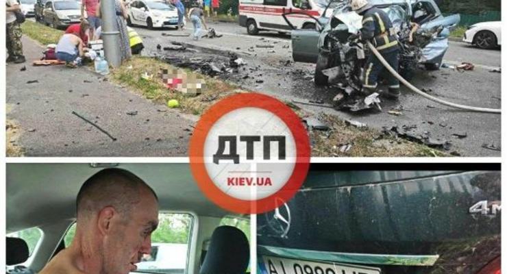 Под Киевом погибла семья из-за пьяного водителя: Сводка ДТП за 12 июля