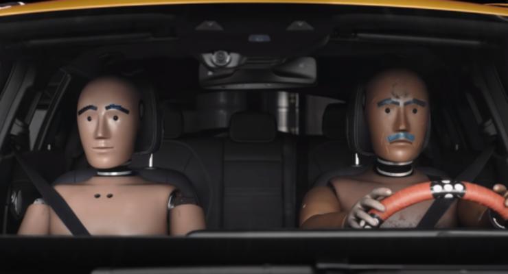Призвание - разбиваться в авто: Сериал о краш манекенах от Mersedes
