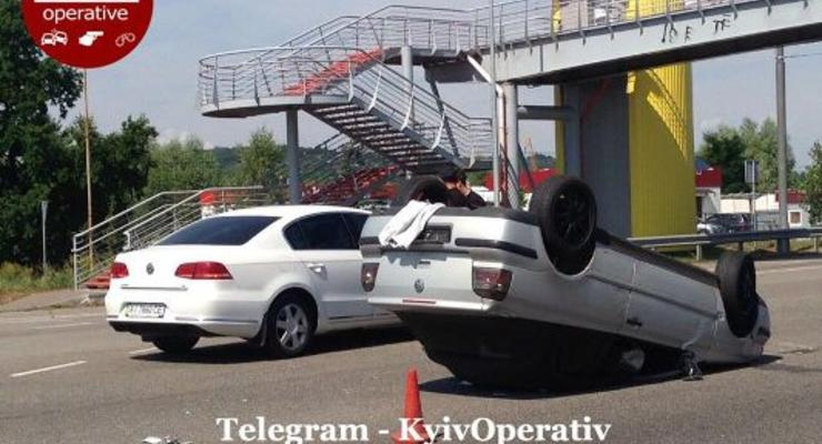 Происшествия на дорогах Киева и области: Сводка