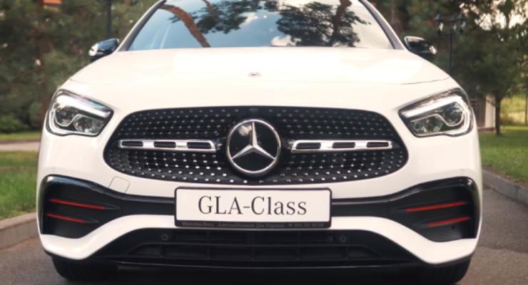 Новый внедорожник Mercedes-Benz GLA представлен в Украине